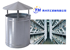 Roof fan for poultry house